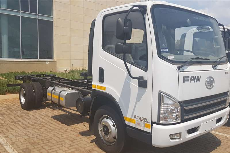 2021 FAW  8.140FL Chassis Cab