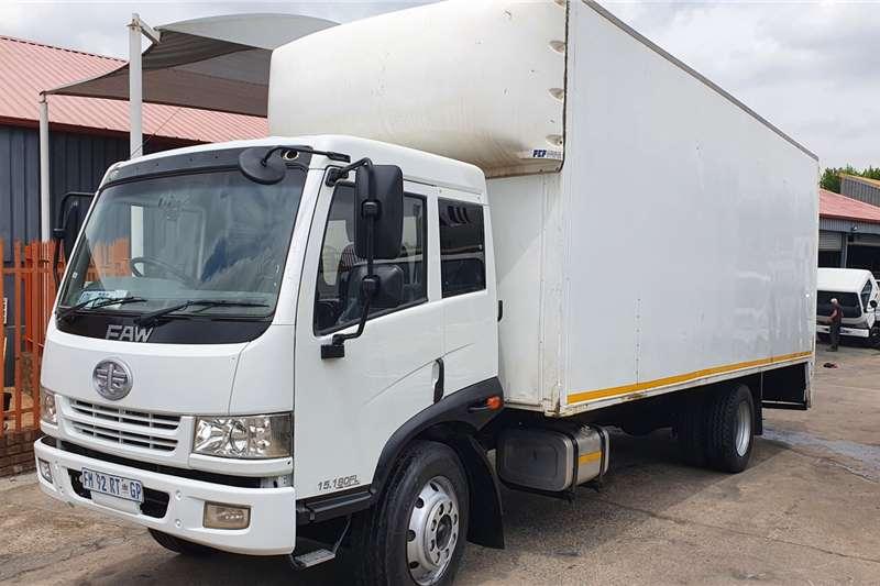FAW 15 180FL Box trucks
