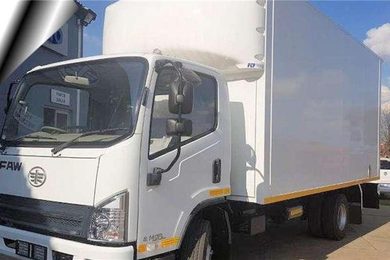 FAW 6.130 FL Van Body 3.5 Ton Box trucks