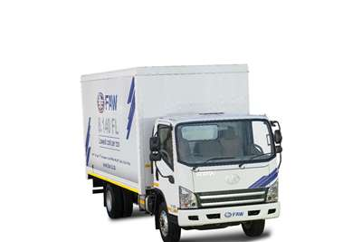 FAW 8.140 FL Van Body 5 Ton Box trucks
