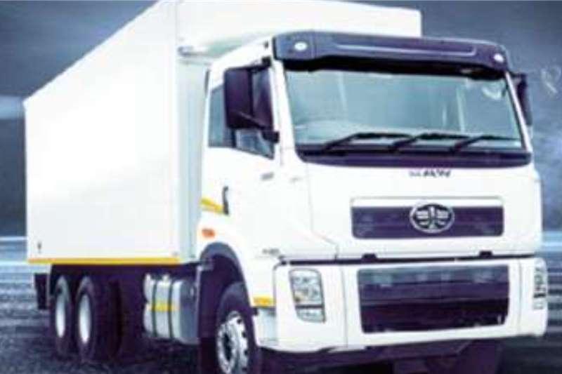 FAW J5N 28 290 FL Double AxleVan Body / Box Body / Cl Box trucks