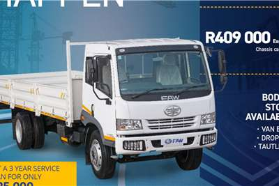 FAW 15.180 8 ton Chassis cab trucks