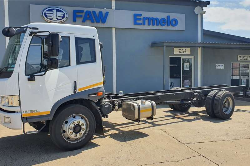 FAW 15.180 FL Chassis Cab 8 Ton Chassis cab trucks