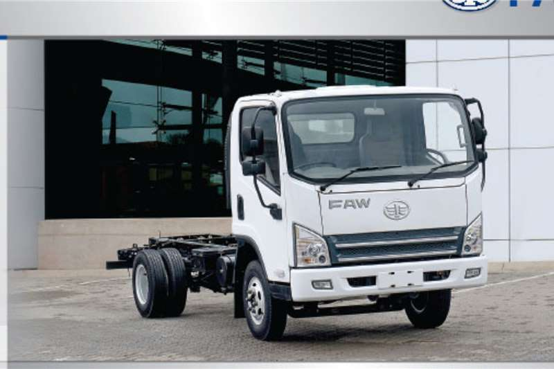 FAW Chassis cab trucks 6.130 3.5 Ton 2020