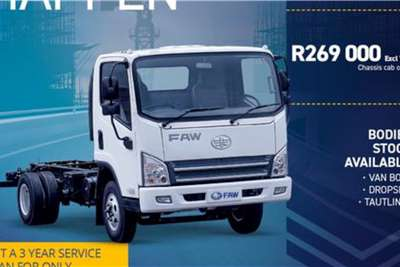 FAW 6130 Chassis cab trucks