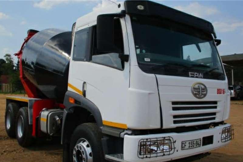 FAW Concrete mixer trucks 33.330 6 CUBE 2016