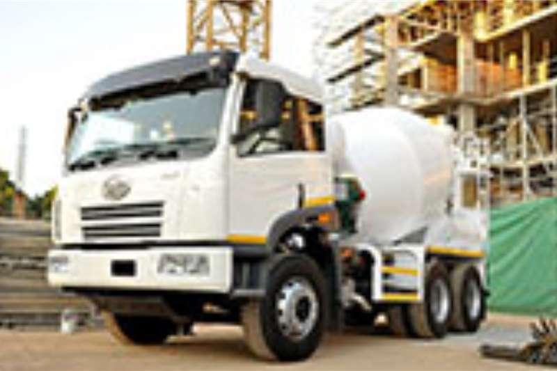 FAW Concrete mixer trucks 33.330 FC 6m3 Mixer 2020
