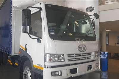 FAW 15.180 FL Tautliner 8 Ton Semi Sleeper Curtain side trucks