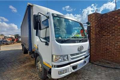 FAW 15 180FL Curtain side trucks
