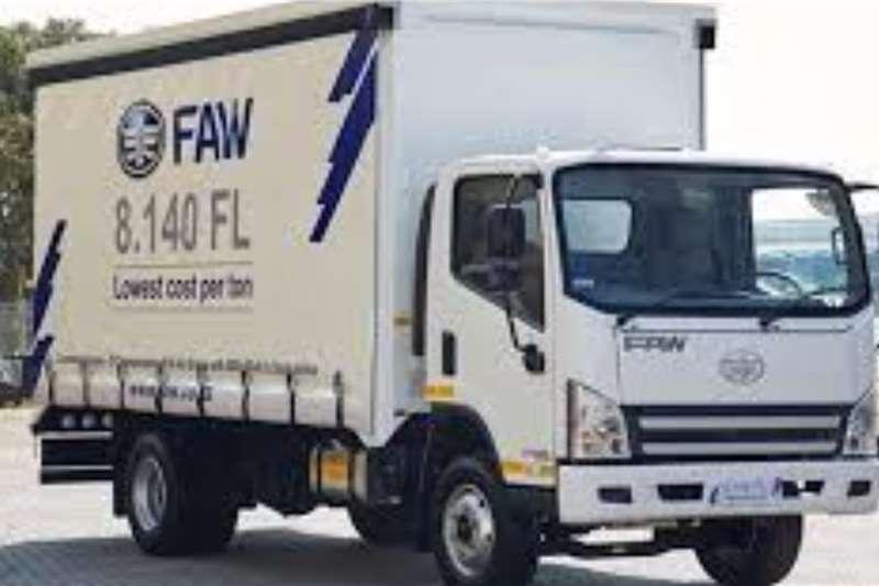 FAW 8.140 FL Tautliner 5 Ton Curtain side trucks