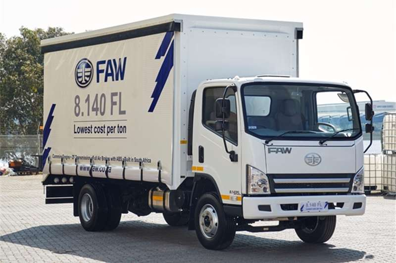 FAW Curtain side trucks 8.140FL   Curtain Side 2019