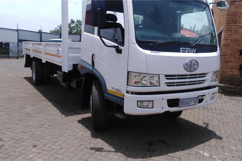 FAW 15.180 8 TON DROPSIDE Dropside trucks