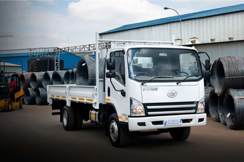 FAW 8.140 FL Dropside 5 Ton with Aircon and Radio Dropside trucks