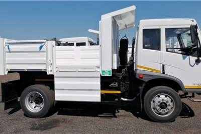 FAW 15.180 FD 6 Cube Tipper / Dropside Combo Tipper trucks