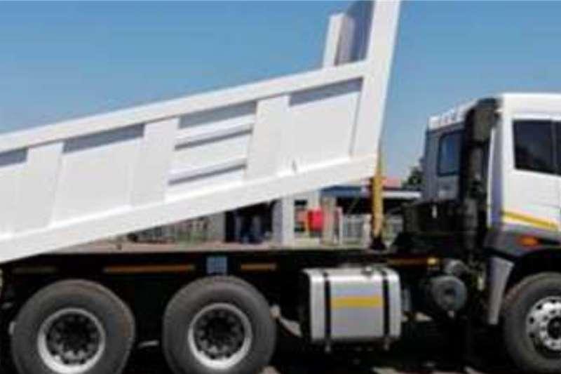FAW J5N 28 290 FD Complete 10 Cube Tipper trucks