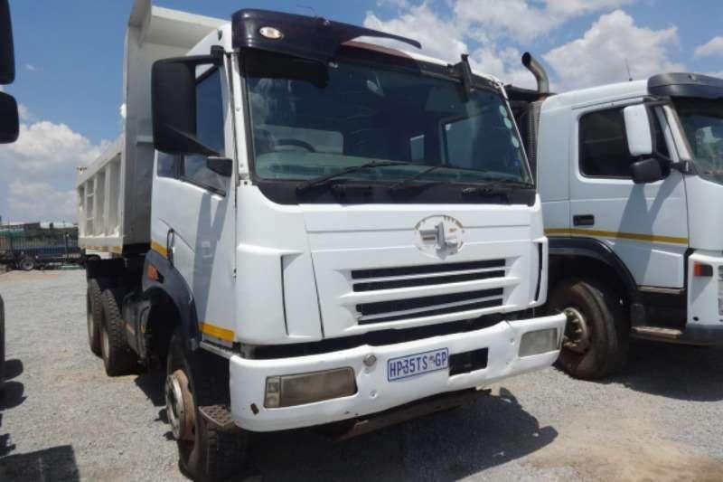 FAW Truck 10m3 Tipper 2012