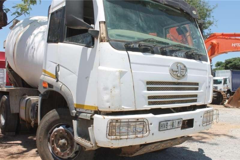 FAW Truck 33.330 6x4 12m3 Mixer Truck 2014
