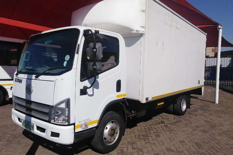 FAW Truck Closed body 8.140FL TURBO INTERCOOLED 2015