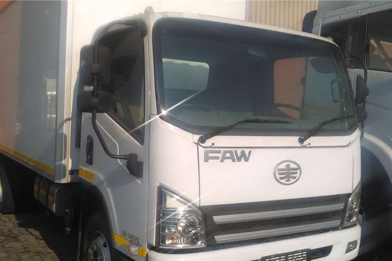 FAW Truck Closed body FAW 8.140 Closed Body 810