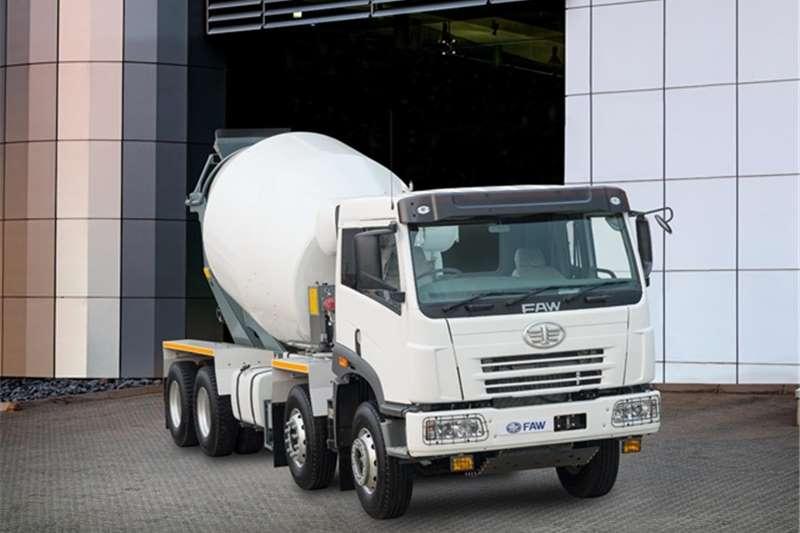 FAW Truck Concrete mixer 35.340FC   8m3 Mixer 2019