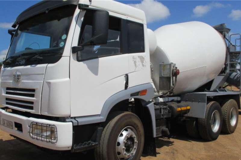 FAW Truck Concrete mixer FAW 33.330 6CUBE MIXER 2014