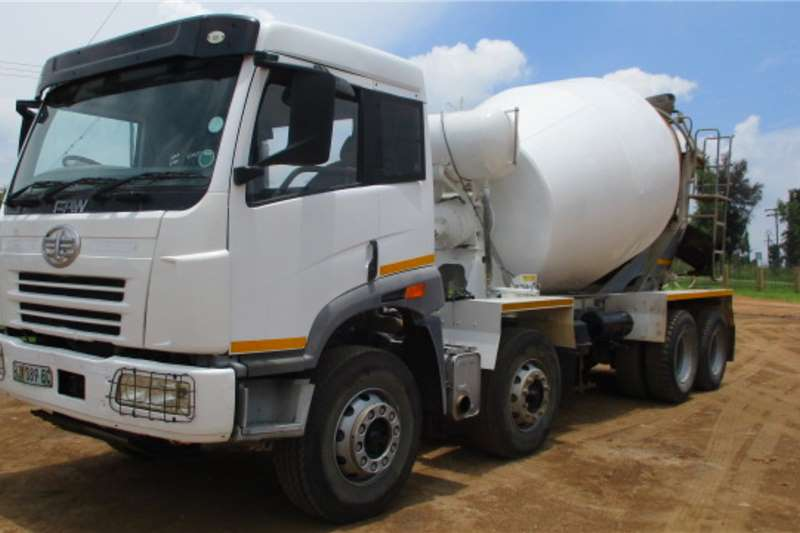 FAW Truck Concrete mixer FAW TWINSTEER 8 CUBE MIXER 2015