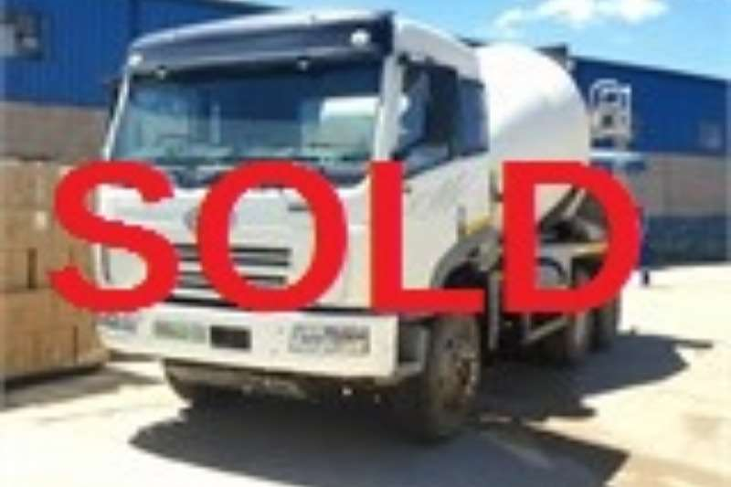 FAW Truck Concrete mixer SOLD 2007