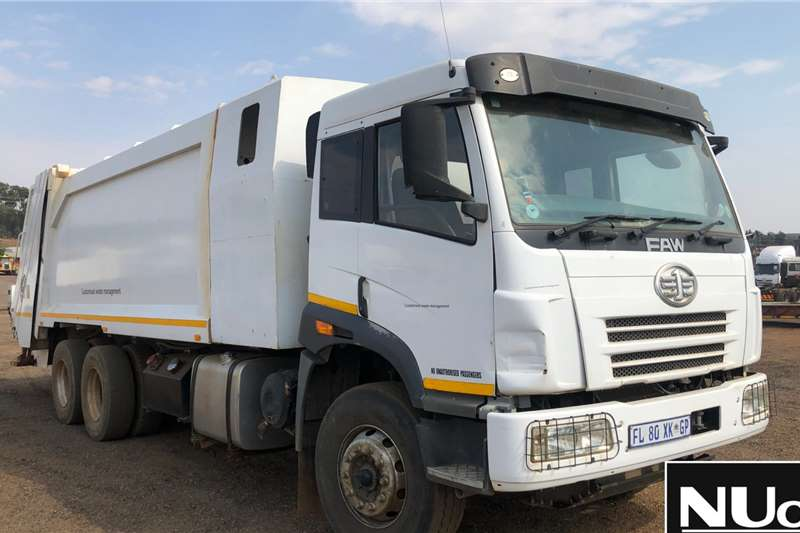 FAW FAW CA28 330 WASTE COMPACTOR Truck