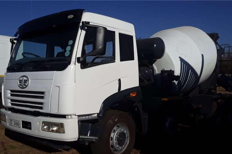 FAW Truck FAW concrete mixer twinsteer 2014