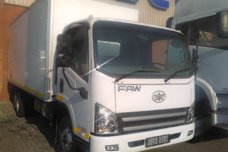 FAW Truck Insulated body FAW 8.140 2016