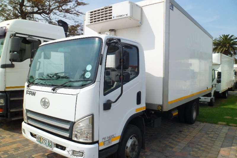 FAW Truck Insulated fridge unit 8 140 5 ton 2016