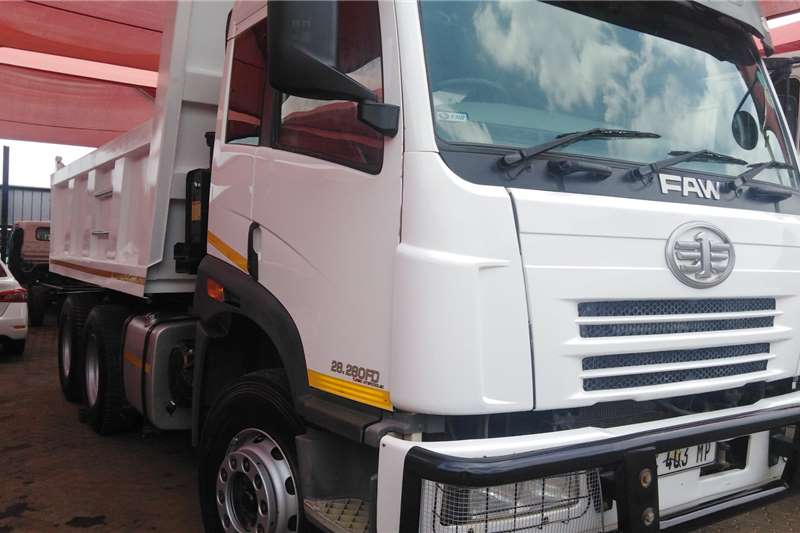 FAW Truck Tipper 28.280FD TURBO INTERCOOL 2017