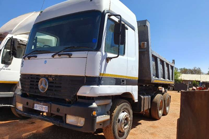 FAW Truck Tipper CA28 280 (10 cube)   (M Benz CAB fitted) 2008