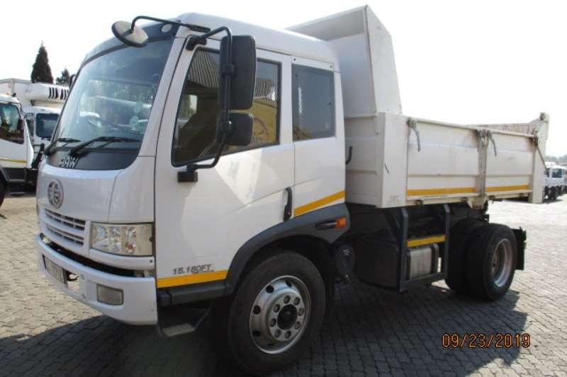 FAW Truck Tipper FAW 15 180 6 CUBE TIPPER 2016