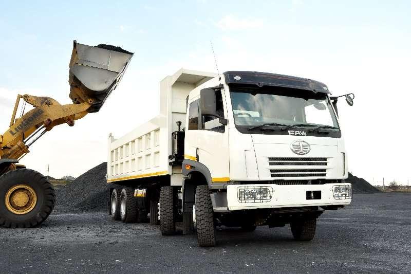 FAW Truck Tipper FAW 35.340 8x4 18m3 Tipper 2020