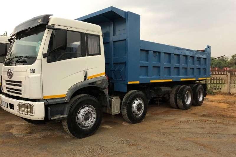FAW Truck Tipper USED   FAW 18 Cube Tipper 8x4 2012