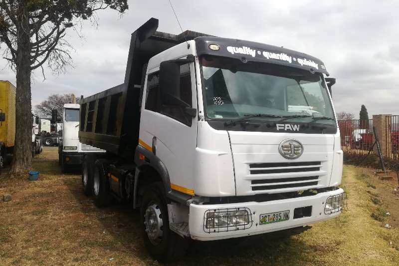 FAW Truck Tipping body 380 2013