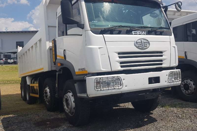 FAW Truck Tipping body FAW 35.340FD 8x4 18cb Tipper 2016
