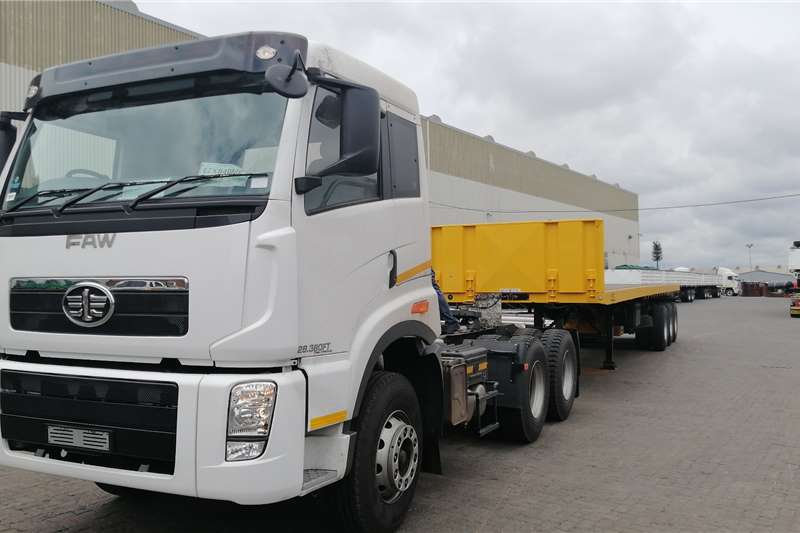 FAW Double axle J5N 33 420 FT 6x4 Single Reduction Truck tractors