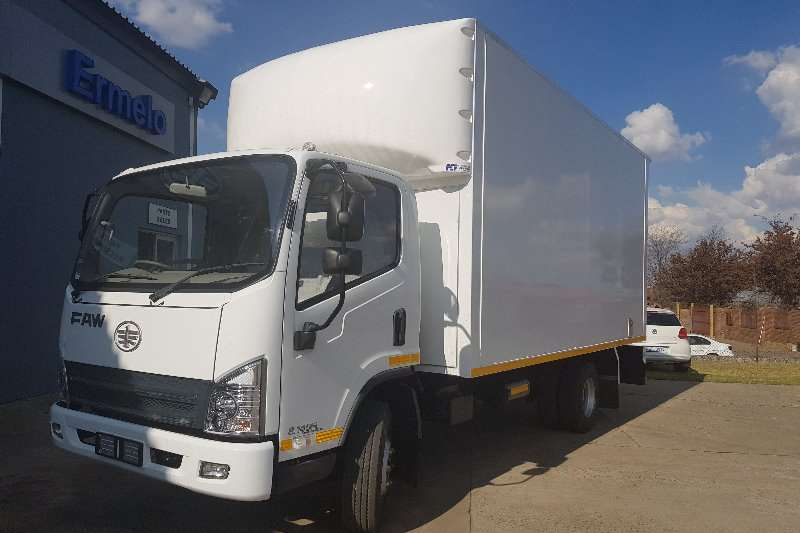FAW Truck Van body 5ton Van Body 2019