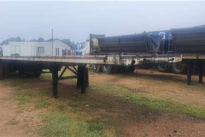 14 meter Flatdeck trailer