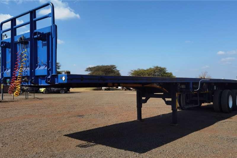 TAILORD DOUBLE AXLE FLATDECK Flatdeck trailer