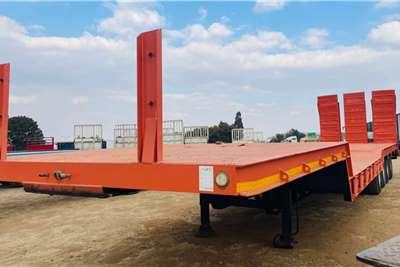 Tandem Flatdeck trailer
