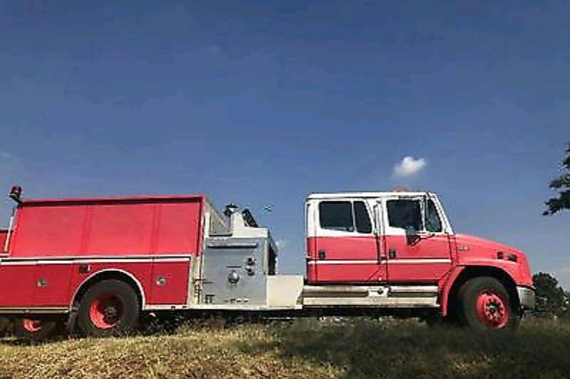 Freightliner Truck Freightliner Fire truck fire engine 1998