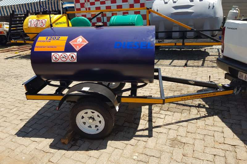 Fuel bowsers 1000 liter trailer 2019