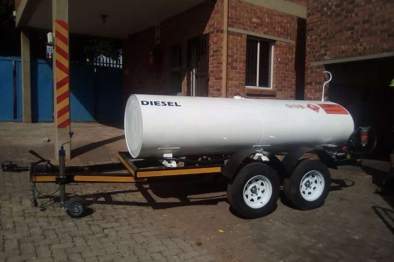 Fuel bowsers 2000 liter trailer 2019