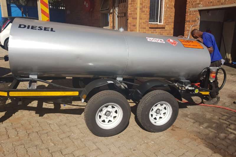 Fuel bowsers 3000 liter trailer 2019
