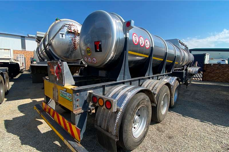 19 000 Litres Very Clean Fuel tanker
