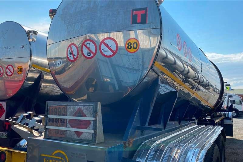 33 000L HFO Tri Axle Fuel tanker