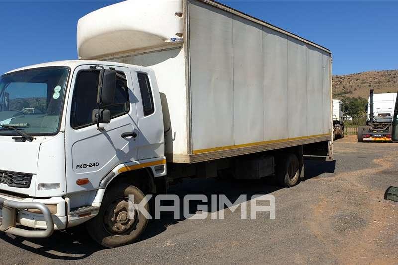 Fuso Box trucks FK13 240 VAN Body with Tail lift 2011